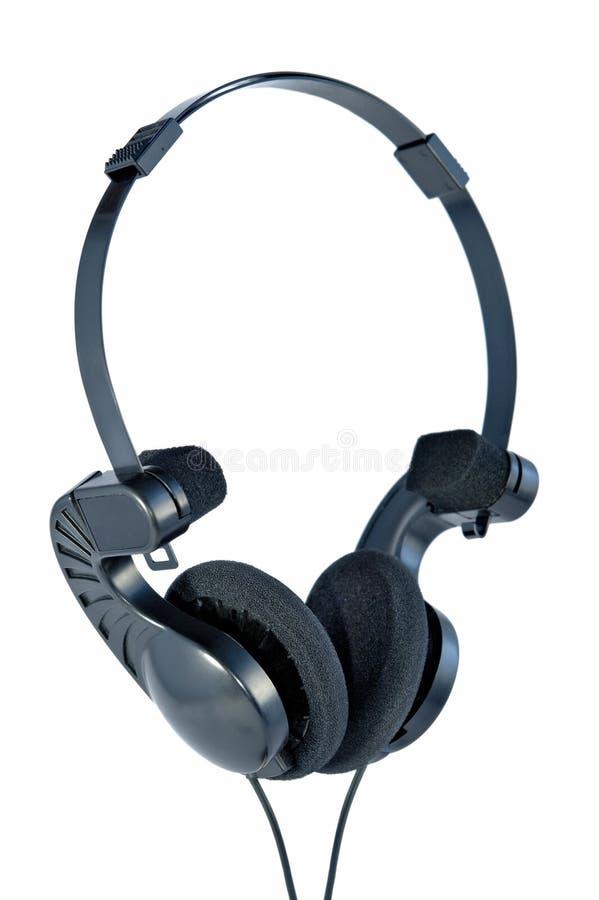 Portable headphones royalty free stock photography