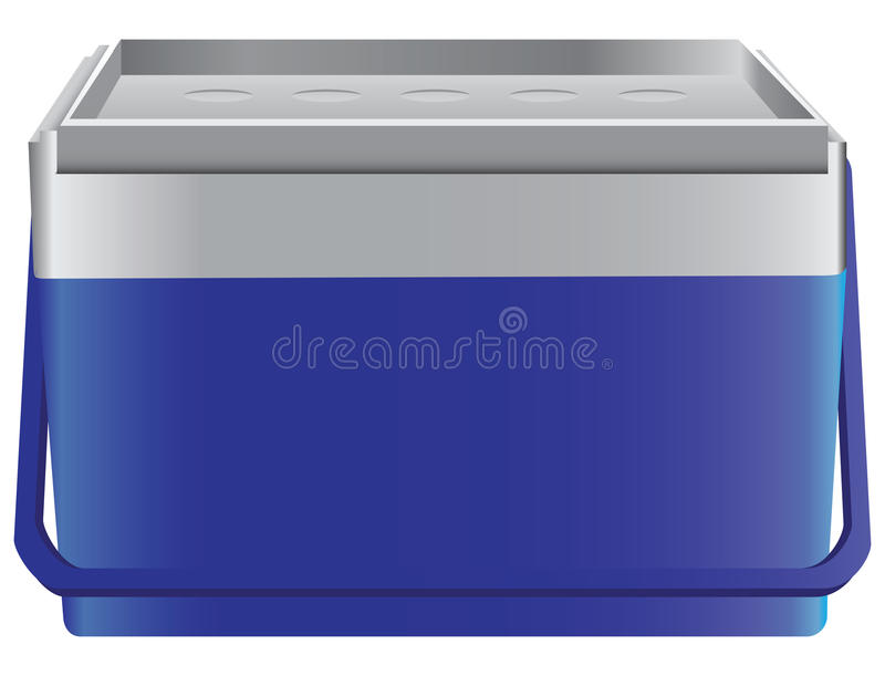 Download Portable Household Refrigerator Stock Vector - Image: 32418994