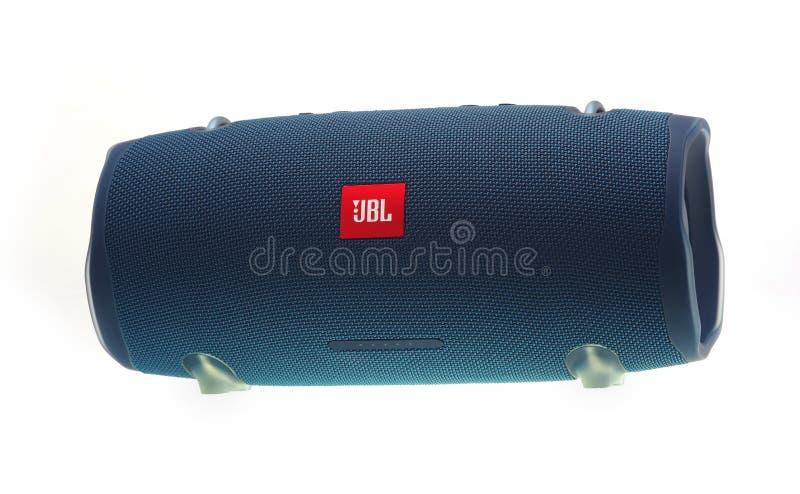 Portable JBL speaker stock photos