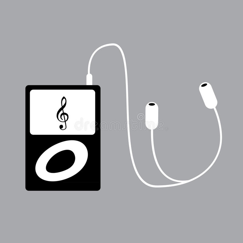Portable Mp3 Player Royalty Free Stock Images