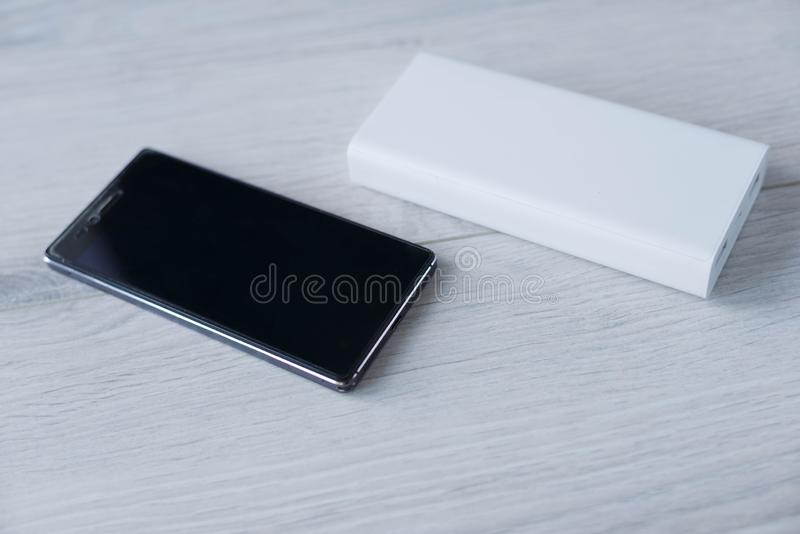 Portable Power Bank stock image