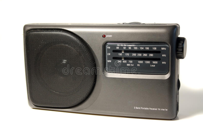 Download Portable Radio stock image. Image of isolated, music - 10556099