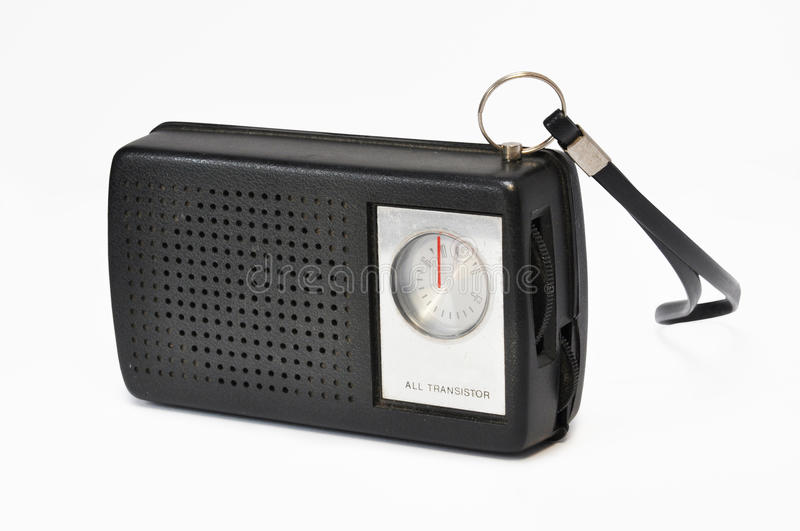 Portable radio stock photos