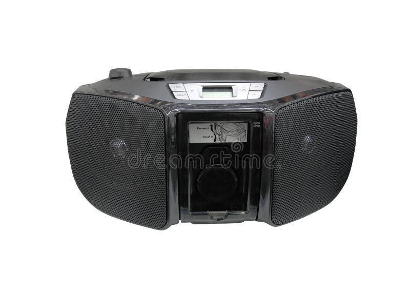 Portable radio cassette recorder stock photos