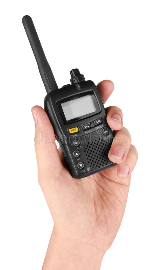 Download Portable radio transceiver stock photo. Image of amateur - 29852360