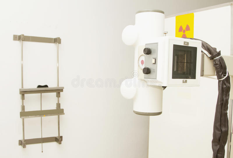 Portable x-ray mechine. Old portable x-ray mechine stock images