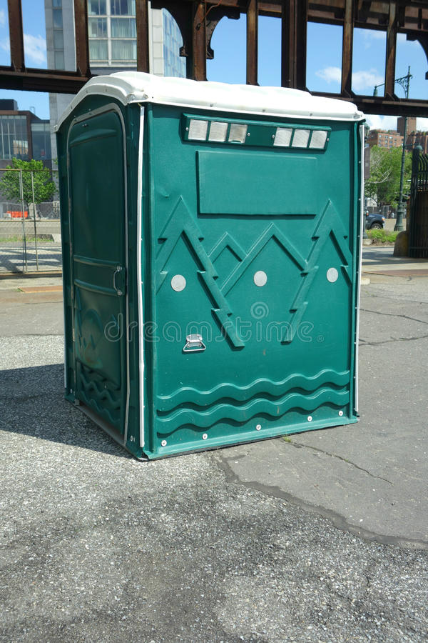 Portable Restroom stock images