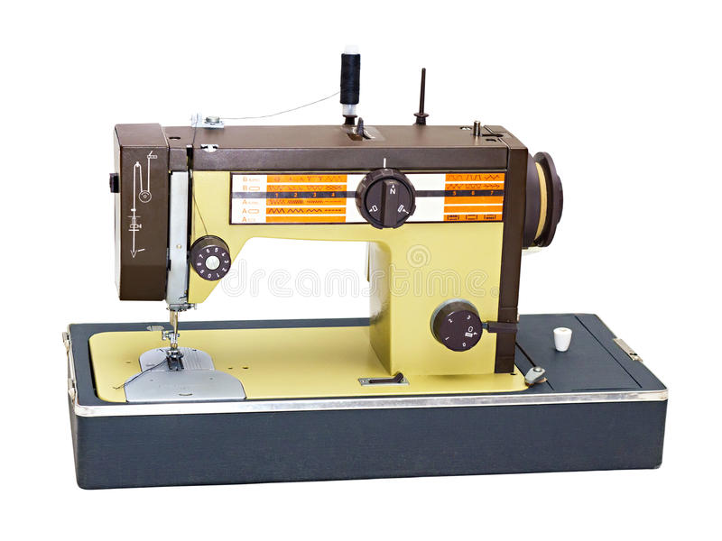 Download Portable sewing machine stock image. Image of domestic - 21734455