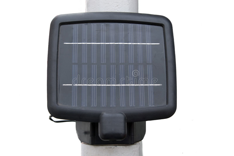 Portable Solar Energy Panel. Isolated in white background stock images