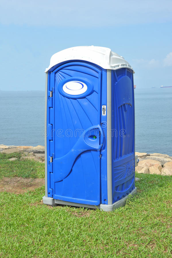 Free Portable Toilet Royalty Free Stock Images - 20556749