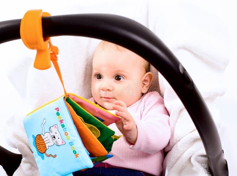 Portador de bebé imagen de archivo libre de regalías