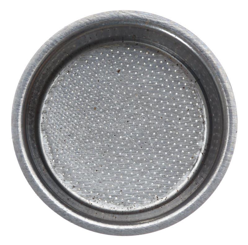 Free Portafilter Basket. Stock Image - 8075101