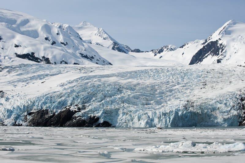 portage ледника стоковое фото