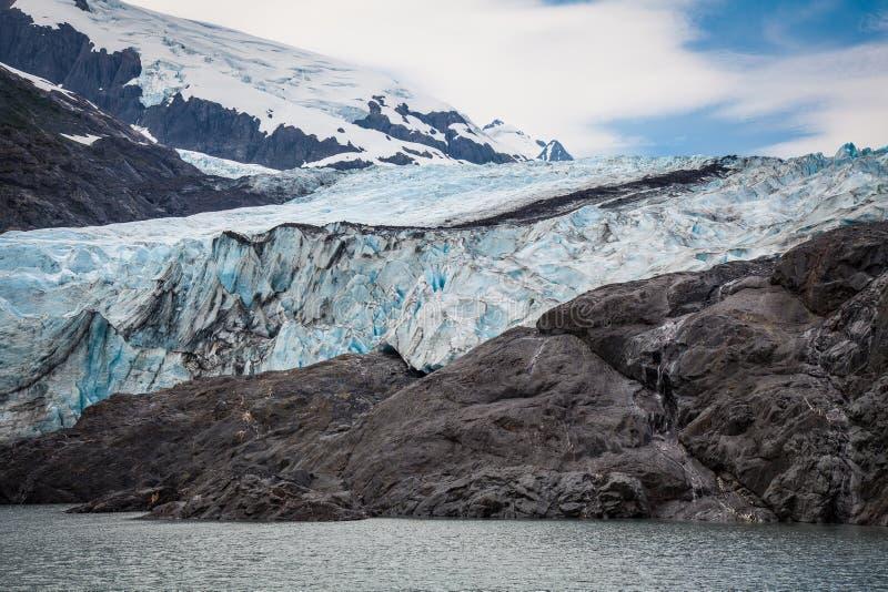 Portage Glacier- Portage- Alaska stock image