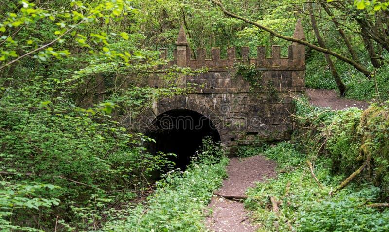 Portail de Daneway du tunnel de canal de Sapperton sur le canal de la Severn-Tamise dans Gloucestershire Angleterre photos stock
