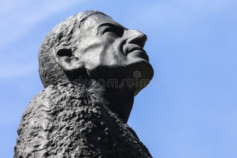 Portail de statue de Hungerford à Londres images libres de droits