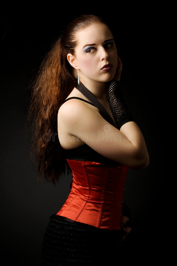 Free Portait Of A Gothic Girl Stock Photography - 2770832