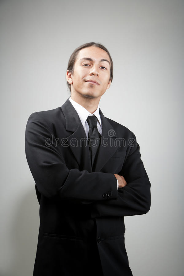 Free Portait Of Confident Young Man Stock Images - 9527854