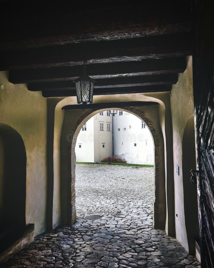 Portal in alte Zeiten lizenzfreie stockfotografie