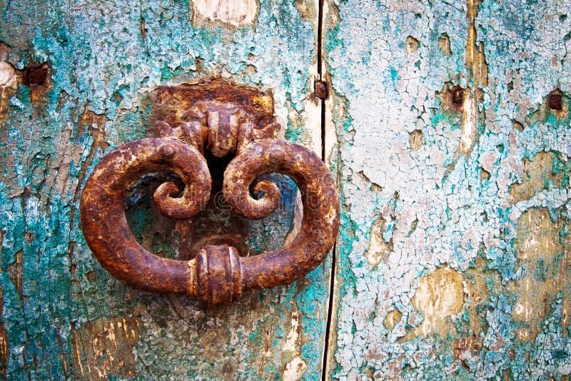 Portal antigo, detalhe fotografia de stock