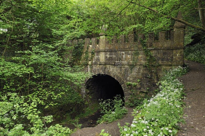 Portal de Daneway - túnel de Sapperton imagem de stock