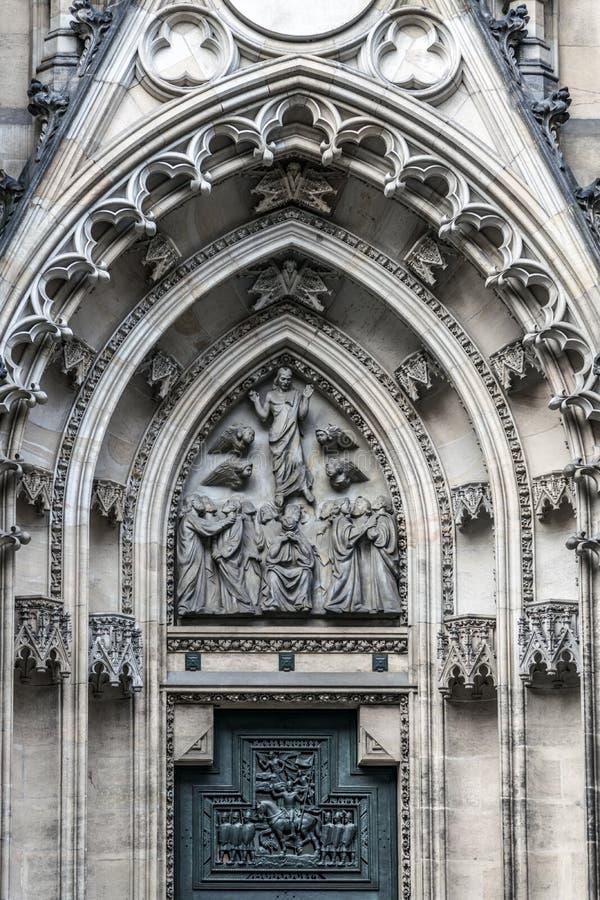 Portal de la ascensión de Cristo al cielo fotografía de archivo