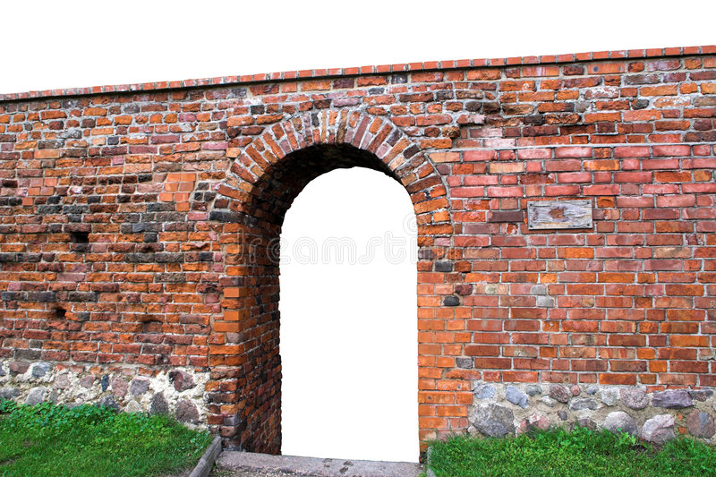 Download Portal gate in gate stock image. Image of brick, dramatic - 3247547