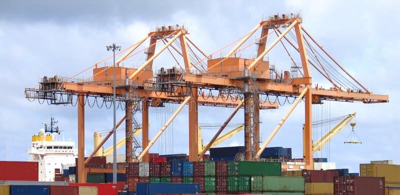 Download Portal Header stock image. Image of import, loading, logistic - 322739
