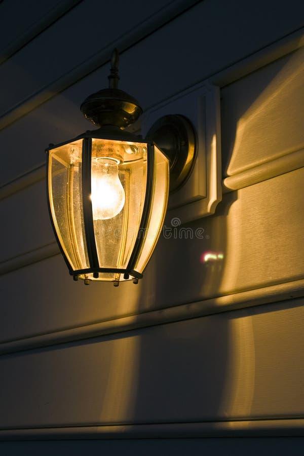 Portal-Leuchte stockfoto