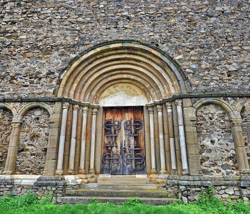 Portale gotico immagini stock libere da diritti