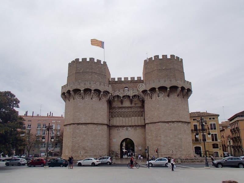 Portar av Valencia royaltyfri fotografi