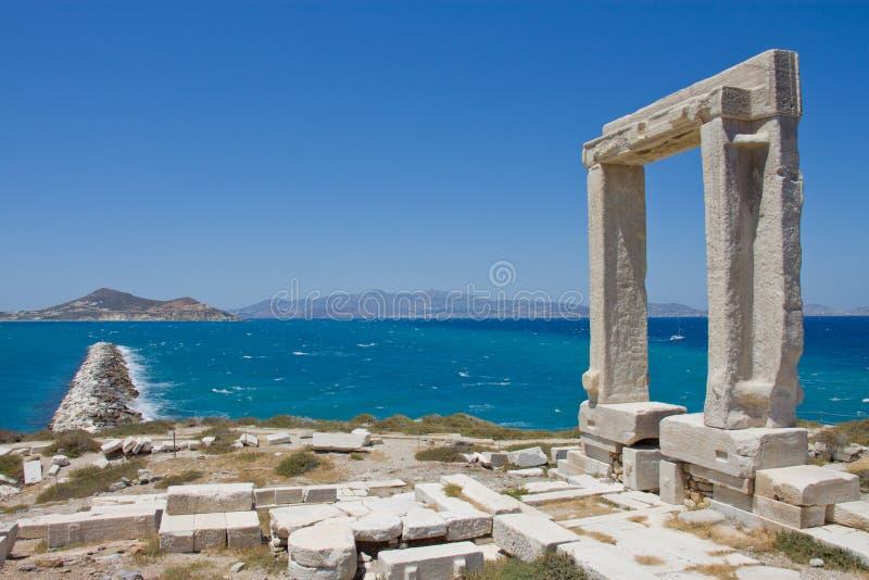 Portara, Naxos photos stock