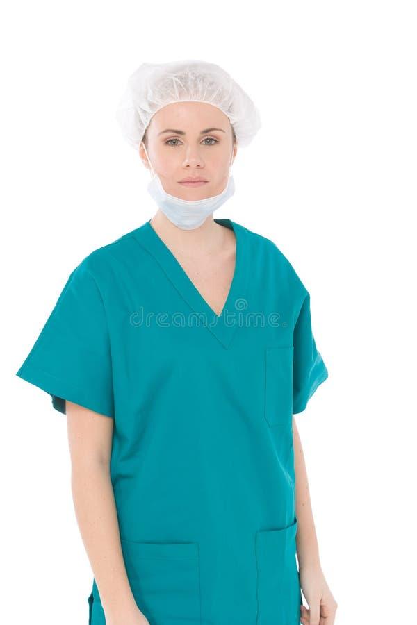 Portarit de la enfermera imagen de archivo