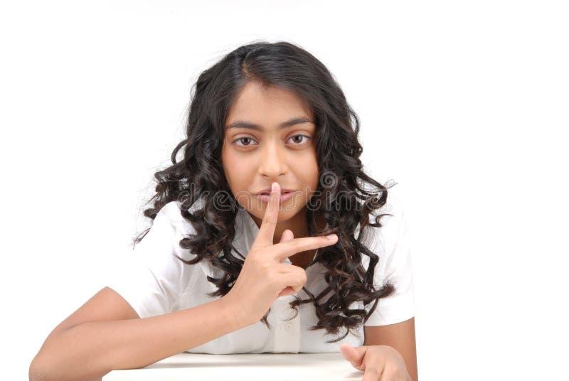 Portarit di bella ragazza indiana immagine stock libera da diritti