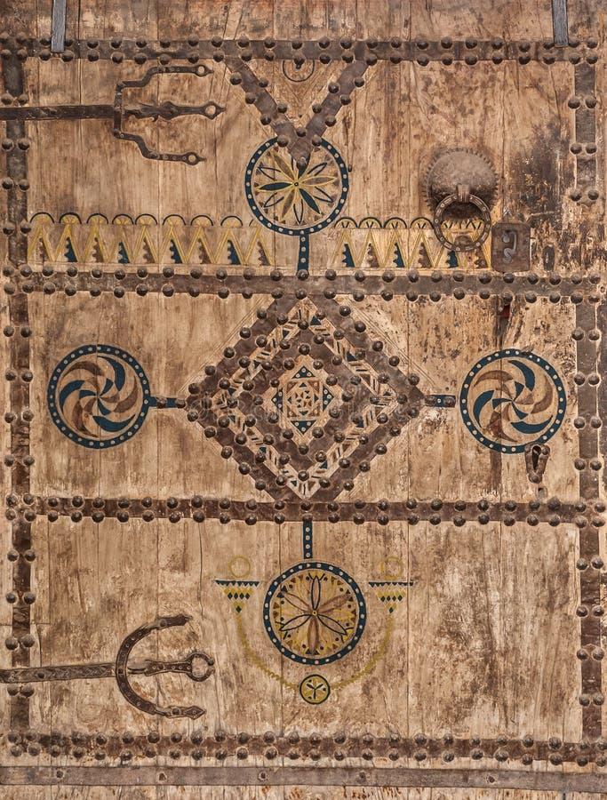 Portas antigas, Marrocos fotografia de stock royalty free