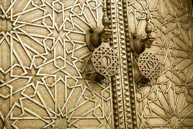 Portas antigas, Marrocos imagens de stock royalty free