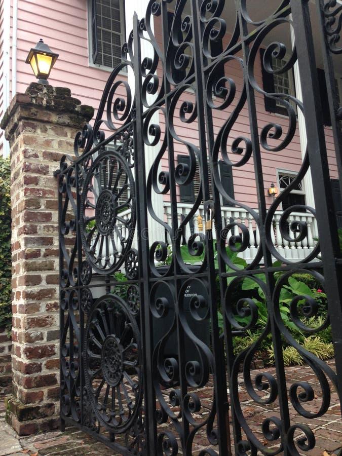 Portas de Charleston 5 fotografia de stock