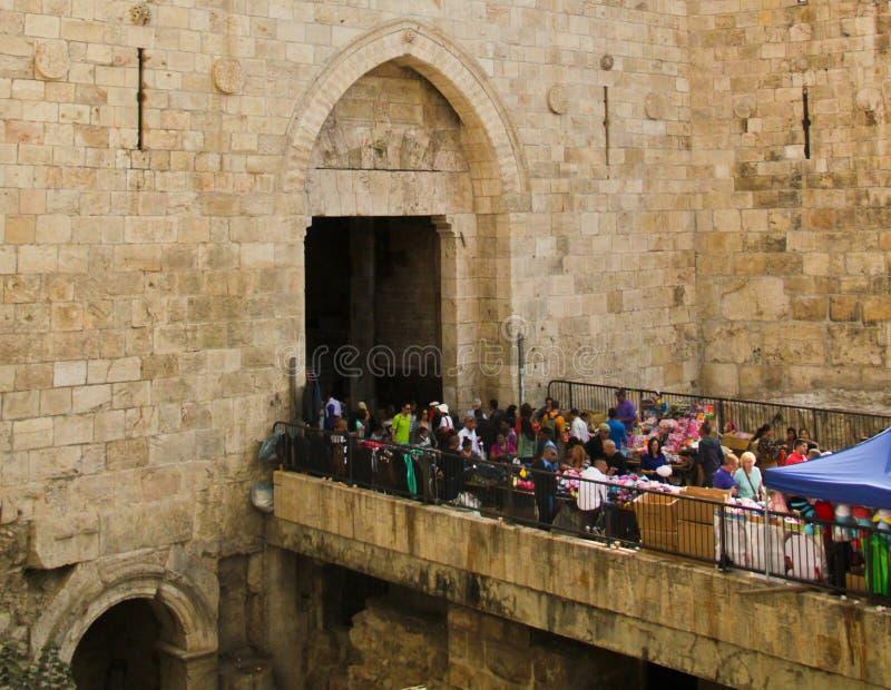Portas de Damasco fotografia de stock