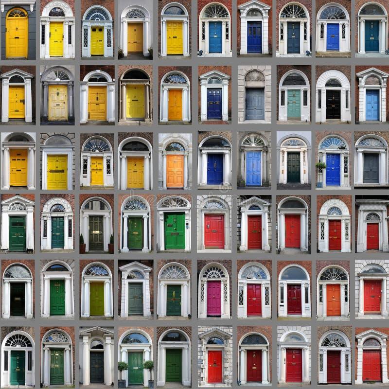 Portas de Dublin foto de stock