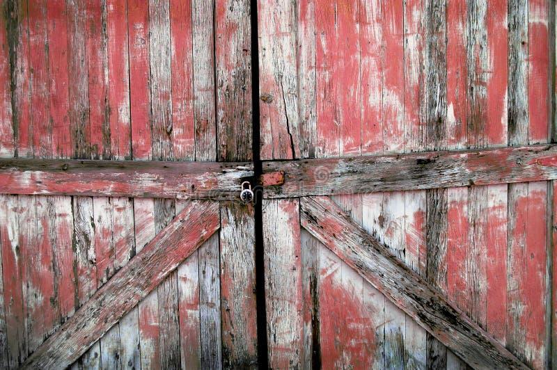 Portas de madeira velhas imagens de stock