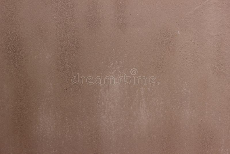 Portas do metal na oxidação imagens de stock royalty free