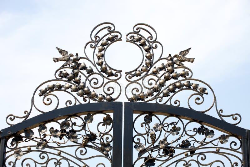 Portas do parque, molde da arte imagens de stock royalty free