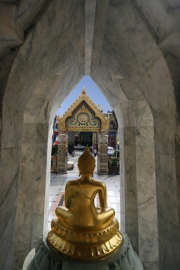 Portas do templo foto de stock
