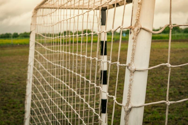 Portas para o mini futebol fotografia de stock royalty free