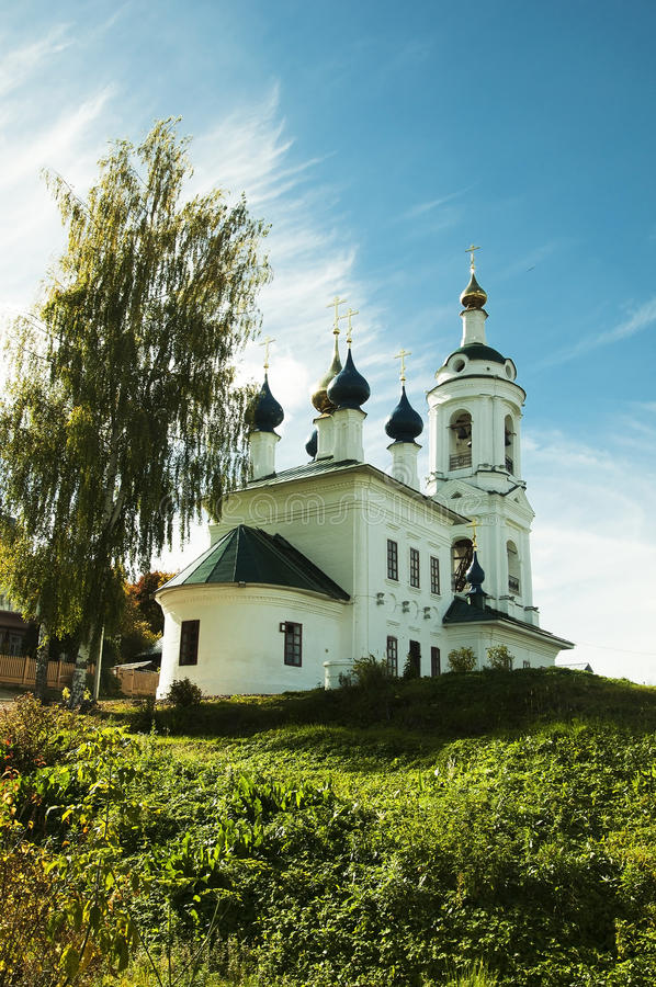 Portata Chiesa di Varvarinsky fotografie stock libere da diritti