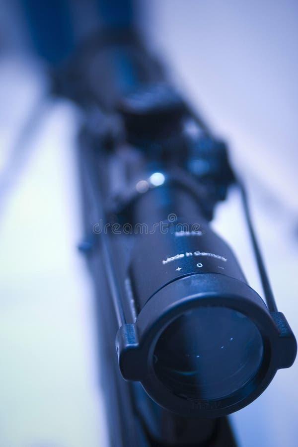 Portata del fucile fotografia stock