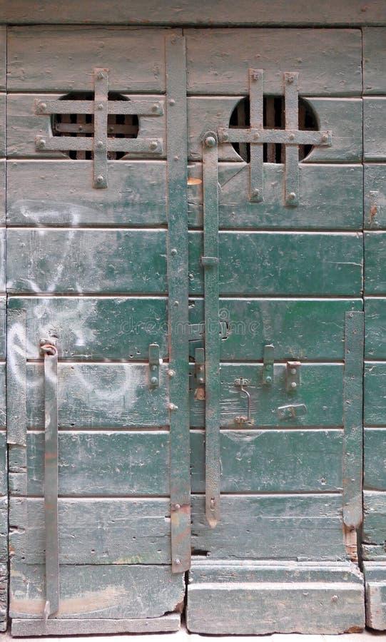 Porte à Venise image libre de droits