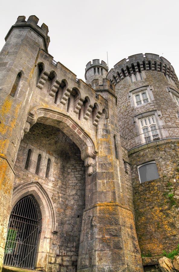 Porte au château de Blackrock images libres de droits