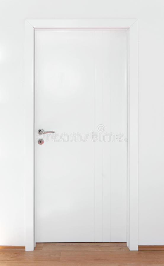 Porte blanche image stock image du home lumineux avion for Porte blanche interieur