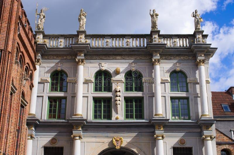 Porte célèbre à Danzig, Pologne images stock